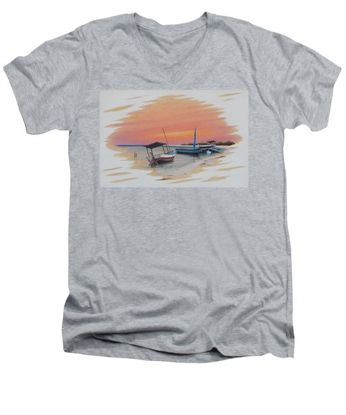 Puerto Progreso V Men's V-Neck T-Shirt