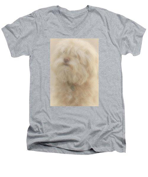 Puff Puff Men's V-Neck T-Shirt by The Art Of Marilyn Ridoutt-Greene