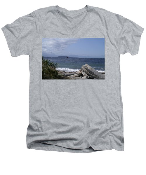 Puget Sound Men's V-Neck T-Shirt