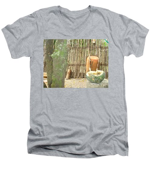 Pumkin 2 Men's V-Neck T-Shirt