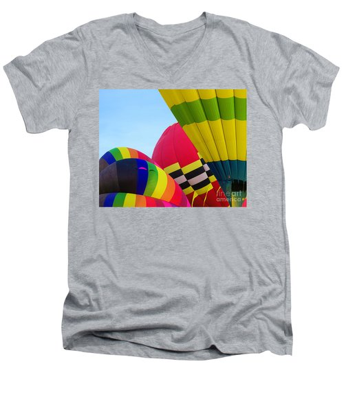 Pumped Up Men's V-Neck T-Shirt
