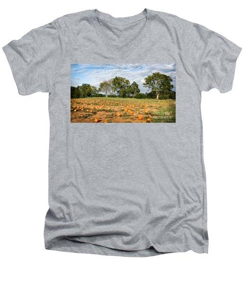 Pumpkin Patch Men's V-Neck T-Shirt