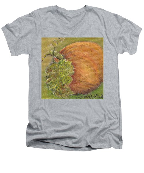 Pumpkin Time Men's V-Neck T-Shirt