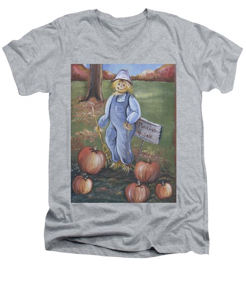 Punkins For Sale Men's V-Neck T-Shirt