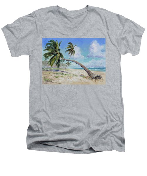 Punta Cana - Sea Beach 13 Men's V-Neck T-Shirt