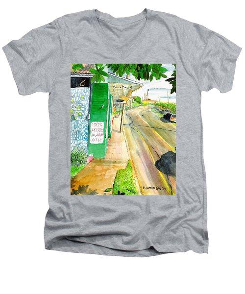 Pure Hawaiian Men's V-Neck T-Shirt