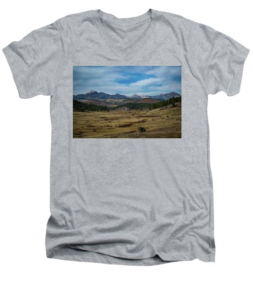 Pure Isolation Men's V-Neck T-Shirt