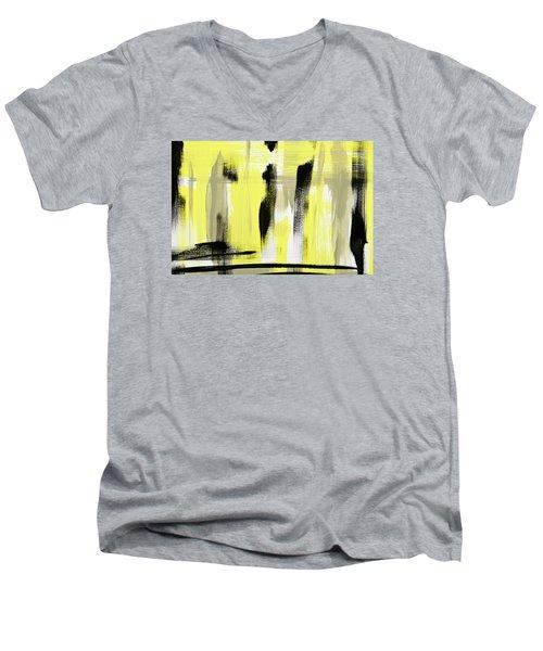 Pure Spirit Abstract Men's V-Neck T-Shirt