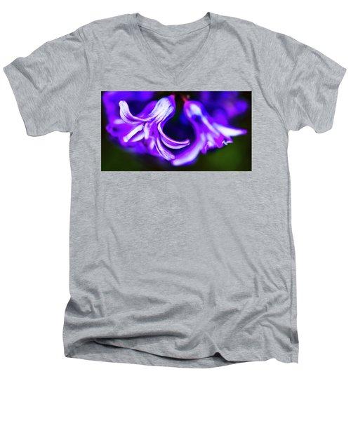 Purple Bells Men's V-Neck T-Shirt