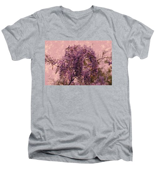 Purple Pleasures Men's V-Neck T-Shirt