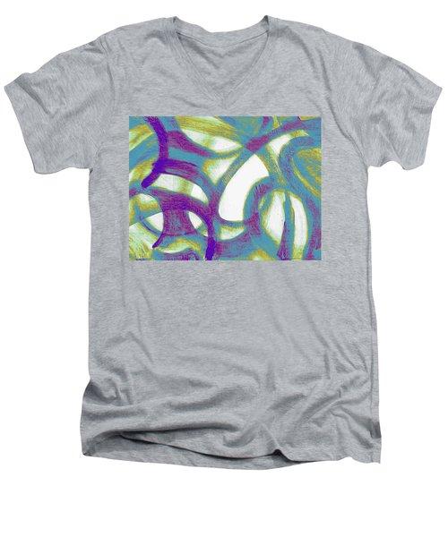 Purple Soul Men's V-Neck T-Shirt