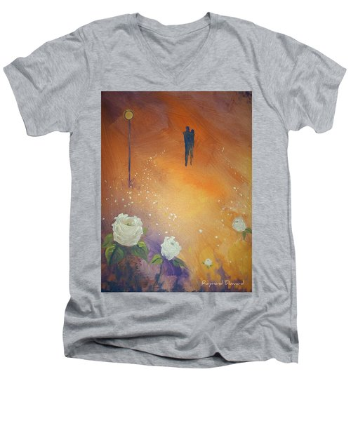 Purpose Men's V-Neck T-Shirt by Raymond Doward