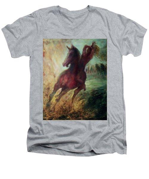 pursuit of Avshalom Men's V-Neck T-Shirt