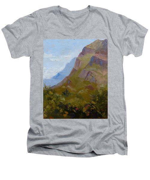 Pusch Ridge I Men's V-Neck T-Shirt by Susan Woodward