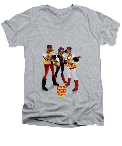 Push It Men's V-Neck T-Shirt