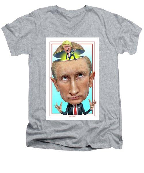 Putin 2016 Men's V-Neck T-Shirt
