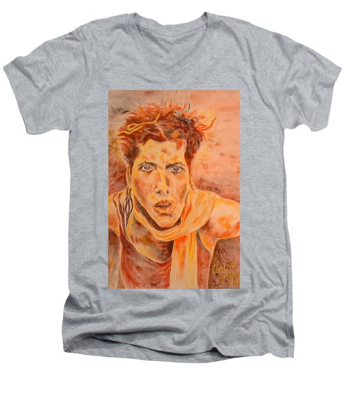 Puzzeld Men's V-Neck T-Shirt