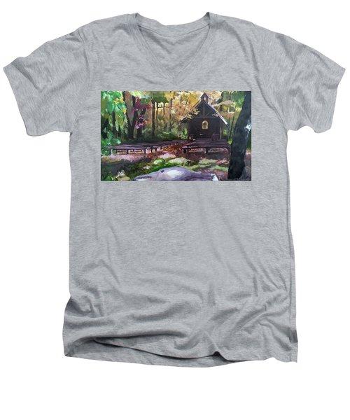 Pvm Outdoor Chapel Men's V-Neck T-Shirt