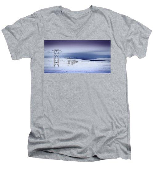 Pylons, Iceland Men's V-Neck T-Shirt