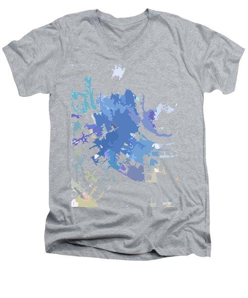 Quadrant Men's V-Neck T-Shirt