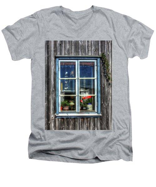 Quaint Window Men's V-Neck T-Shirt