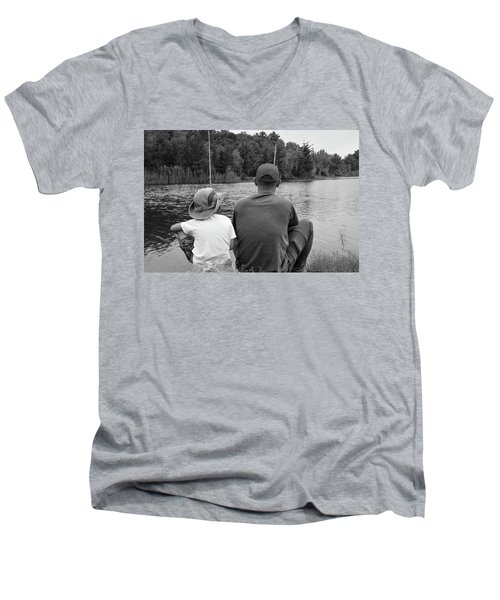 Quality Time... Men's V-Neck T-Shirt