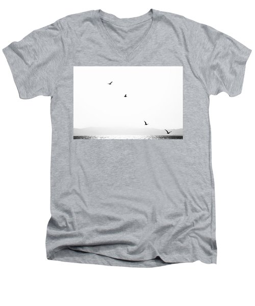 Quartet Men's V-Neck T-Shirt