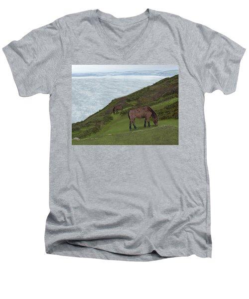 Queen Of Rame Men's V-Neck T-Shirt