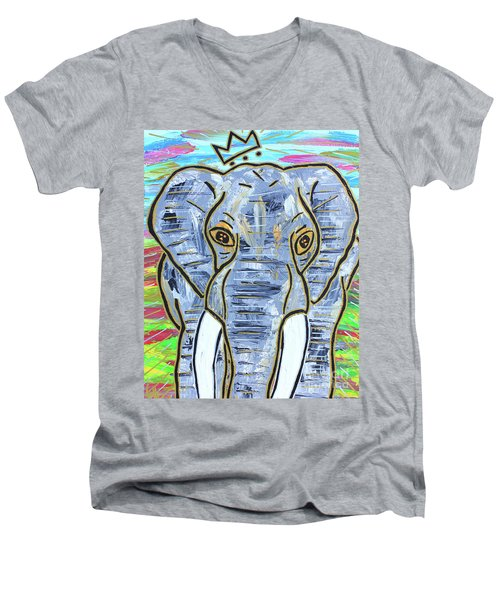 Queen Of The Jungle Men's V-Neck T-Shirt