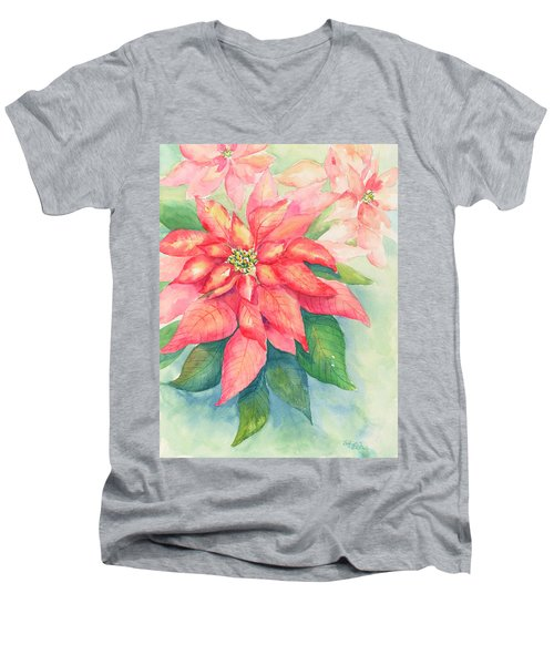 Queen Of The Show Men's V-Neck T-Shirt by Sandy Fisher