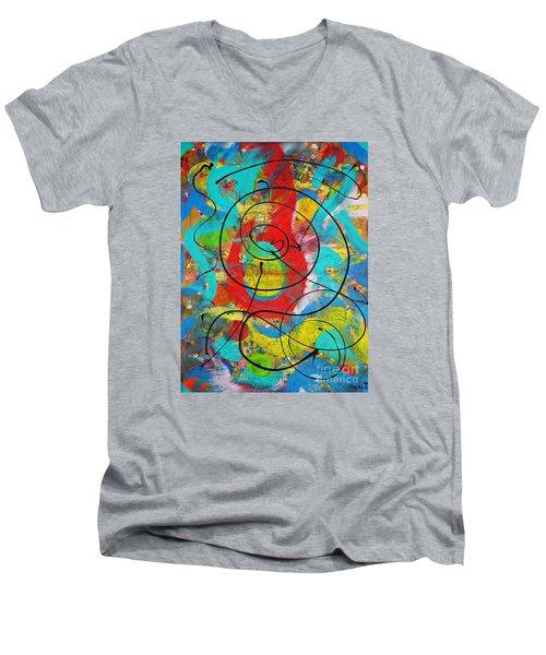 Question Men's V-Neck T-Shirt