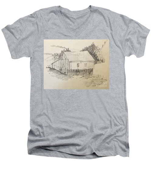 Quiet Barn Men's V-Neck T-Shirt
