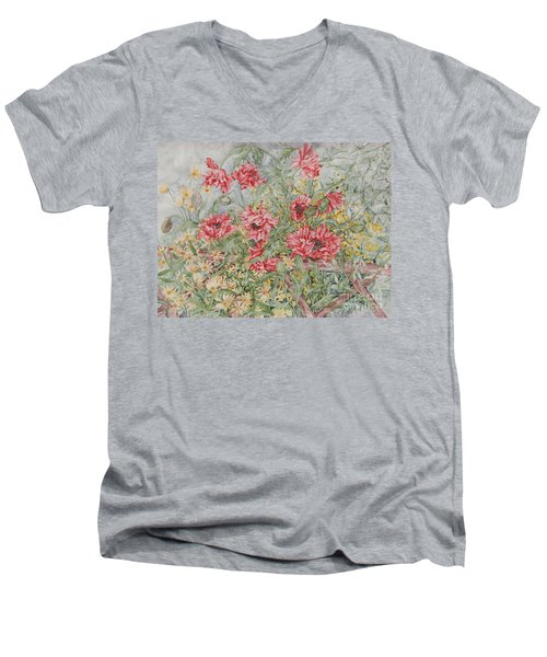 Quiet Corner Men's V-Neck T-Shirt