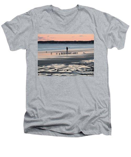 Quiet Light Men's V-Neck T-Shirt