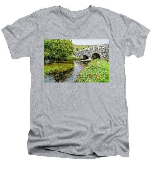 Quiet Man Bridge Men's V-Neck T-Shirt