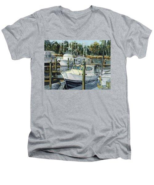 Quiet Marina Men's V-Neck T-Shirt