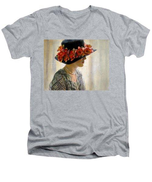 Quiet Moment Men's V-Neck T-Shirt