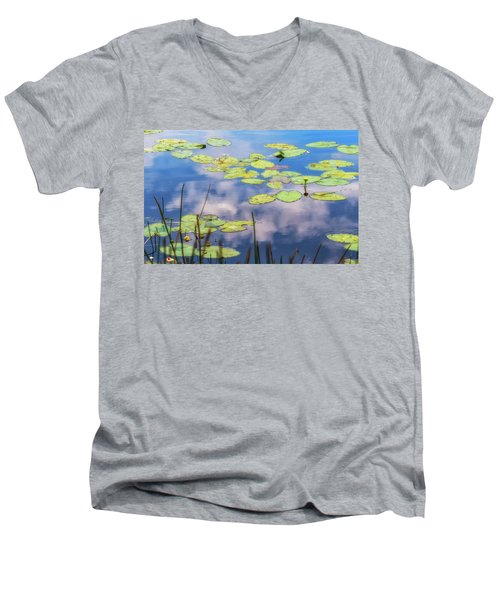 Quiet Reflections Men's V-Neck T-Shirt