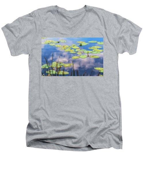 Quiet Reflections Men's V-Neck T-Shirt