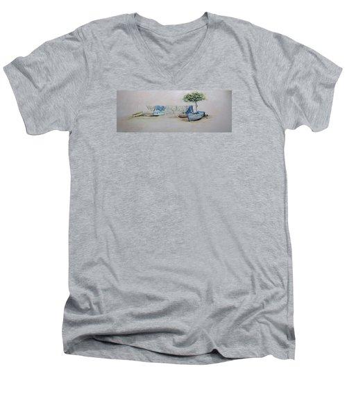 Quietude Men's V-Neck T-Shirt