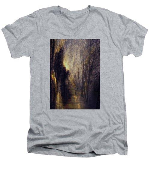 Quo Vadis  -  Memory Lane Men's V-Neck T-Shirt