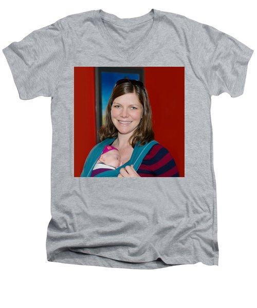 Rachel Madonna Men's V-Neck T-Shirt