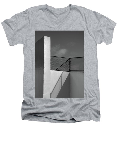 Men's V-Neck T-Shirt featuring the photograph Racquetball IIi  by Richard Rizzo