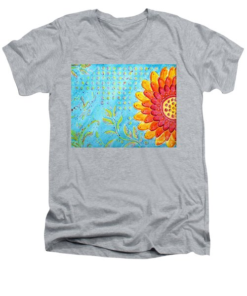 Radiance Of Christina Men's V-Neck T-Shirt by Desiree Paquette