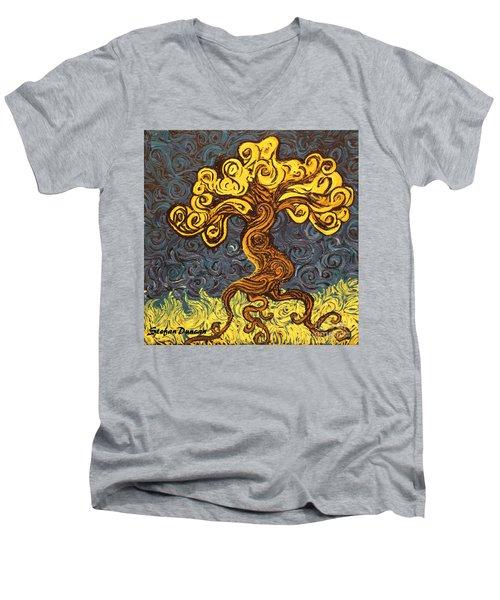 Radiant Within Men's V-Neck T-Shirt