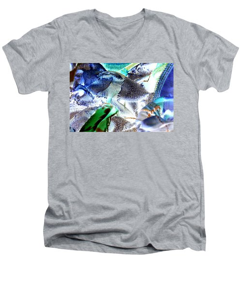 Radioactive Ribbon Men's V-Neck T-Shirt