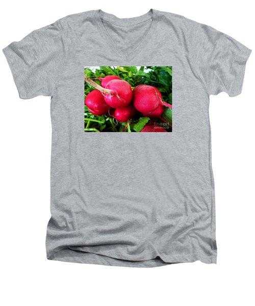 Radish Bottoms Men's V-Neck T-Shirt