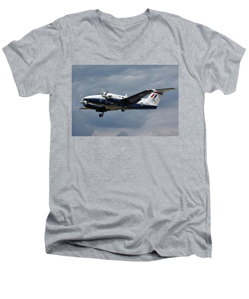 Raf Beech King Air 200  Men's V-Neck T-Shirt