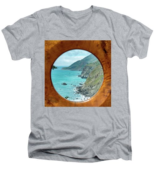 Ragged Point Men's V-Neck T-Shirt