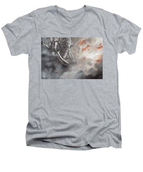 Raging Bull Men's V-Neck T-Shirt